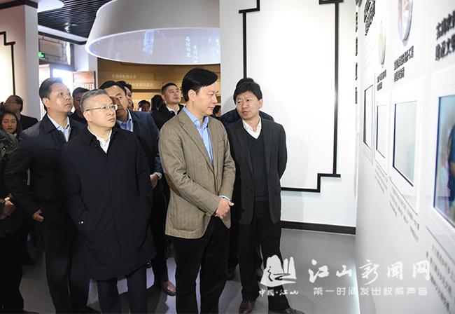 梅州市党政代表团来江考察美丽乡村建设