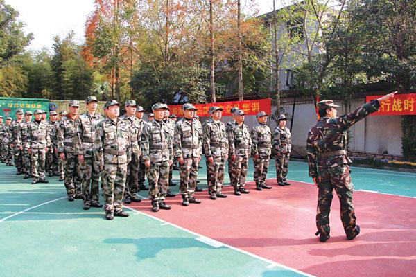 市人防办在台州576训练基地开展人防专业队培训