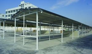 玉环经济开发区投用两处电瓶车集中充电站