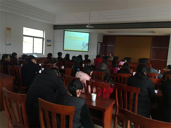 石璜镇卫生院开展孕产妇知识讲座