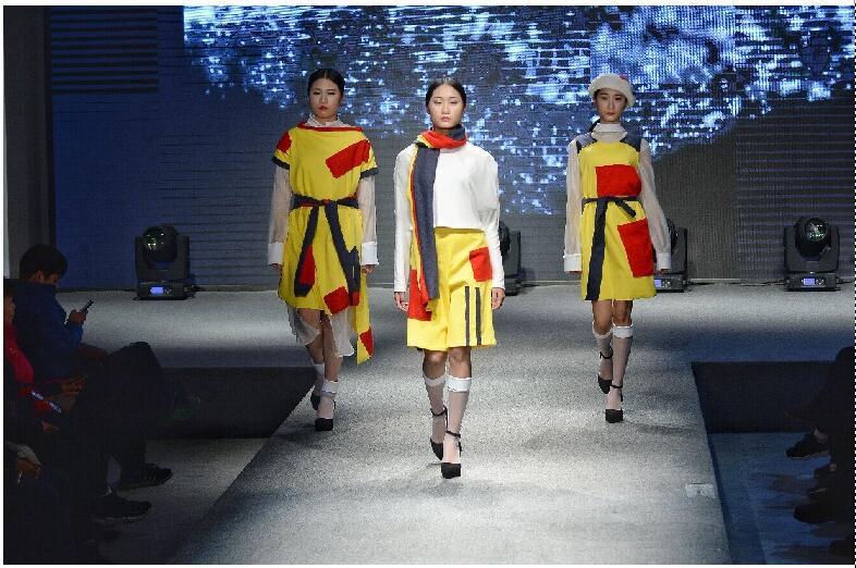 青年技能创新服装设计走秀