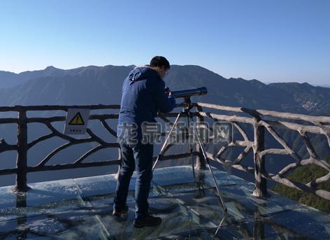 市气象局在屏南镇周岱村开展气象景观体验活动