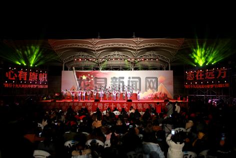 """市中职校举办""""践行十九大 共筑中国梦""""主题合唱比赛"""