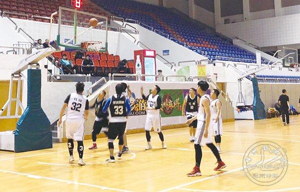 嵊新篮球跨年联赛开赛