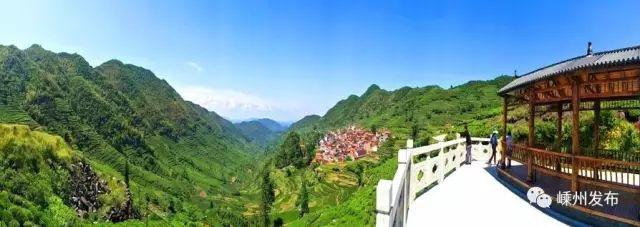 上坞山村:一颗明珠嵌群山