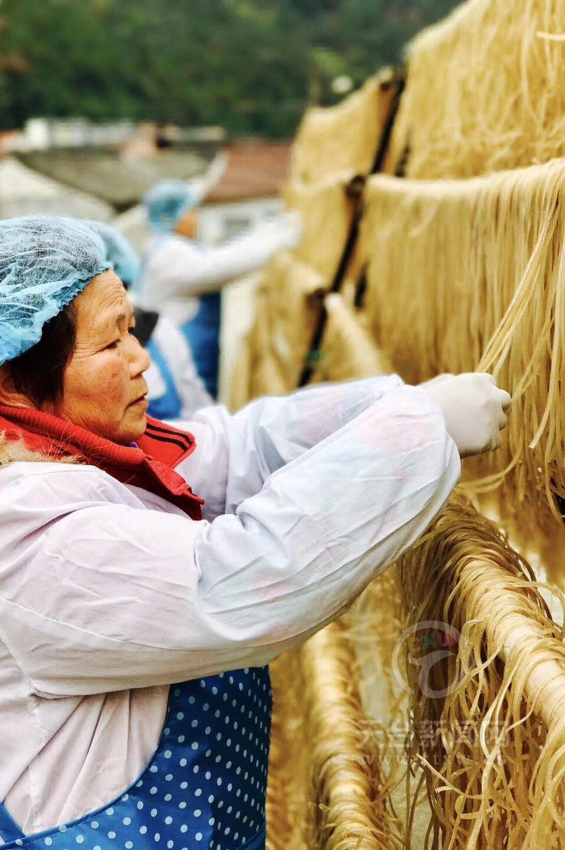 祥里村番薯粉面有特色