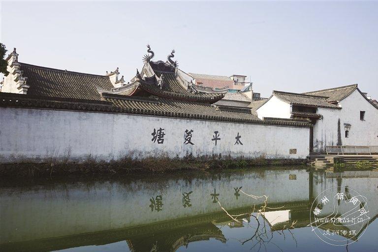 崇仁六村:白墙灰瓦 江南风情