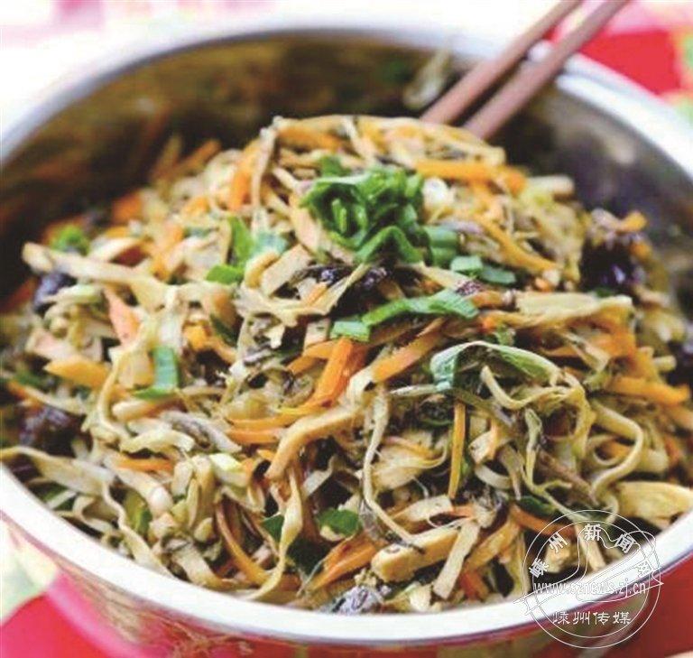 嵊州小吃――过年传统美食:八宝菜