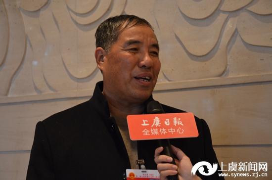 微访谈:戴瑞良代表 谢塘镇新戴家村党总支书记