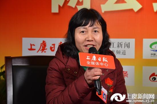 微访谈:王爱珠代表 百官街道卧龙山庄社区党总支书记、主任