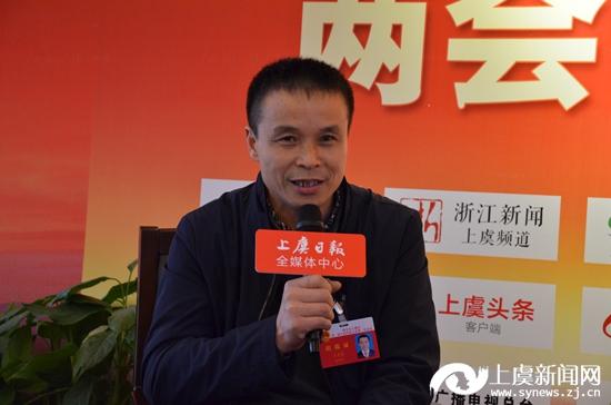 微访谈:石龙盛代表 下管镇兴南村村长