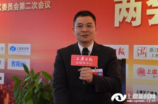 微访谈:许训华代表 上虞农商银行小越支行行长