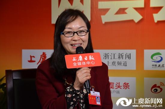 微访谈:彭治萍代表 盖北镇中学副校长
