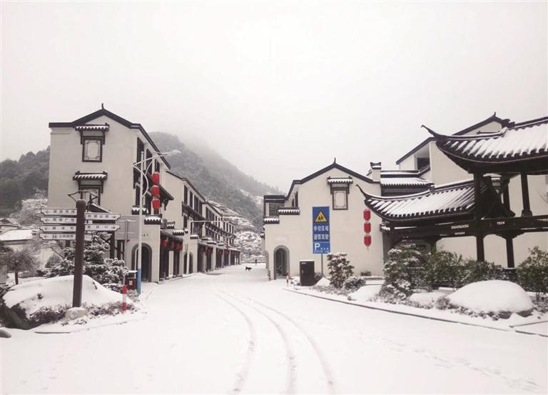 2018年的第一场雪