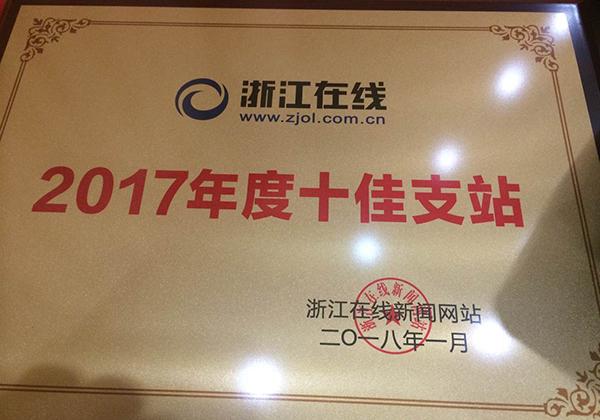 本网荣获2017年度