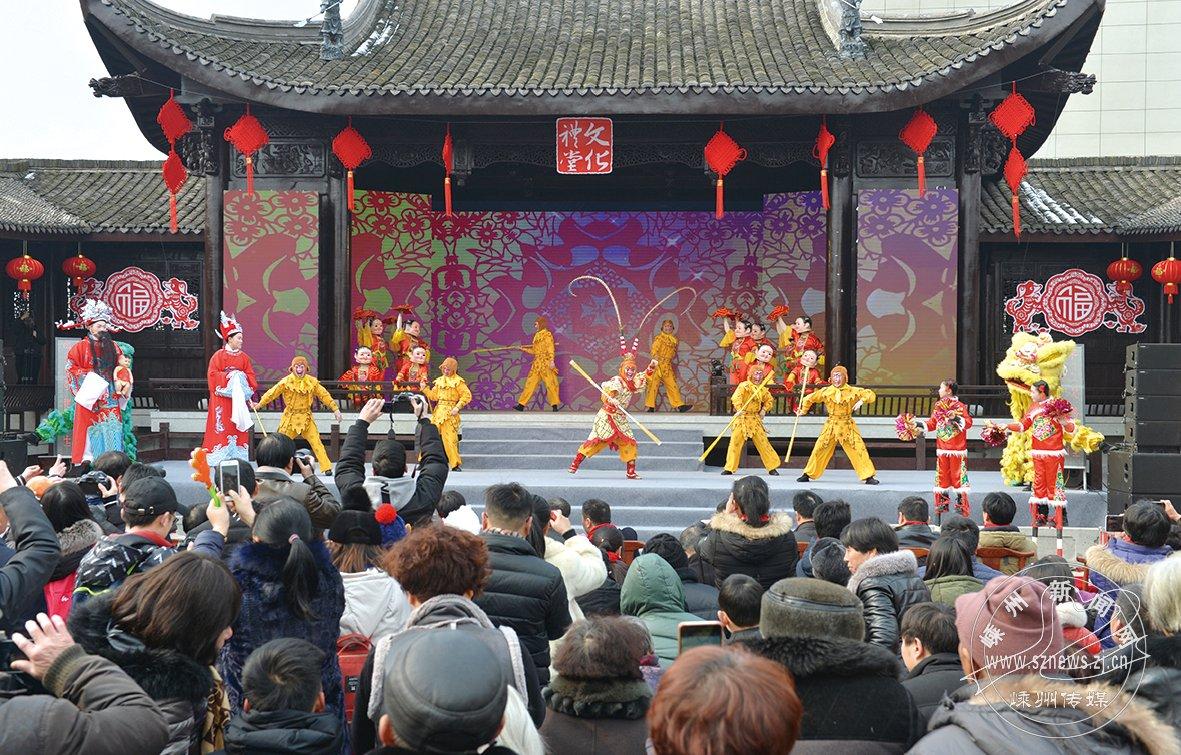 """""""我们的村晚""""在东王村上演"""