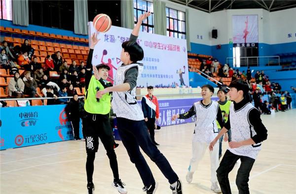 中小学篮球赛开赛!