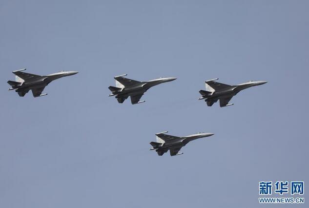 空军苏-35战机飞赴南海战斗巡航