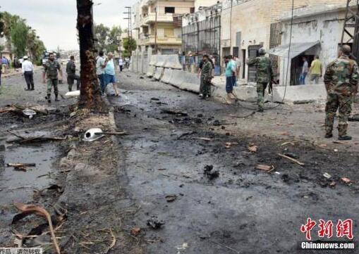 叙利亚外交部谴责美国空袭行动