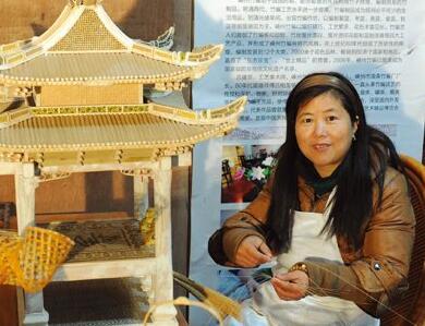 吕建亚夫妇:巧手编织传承路