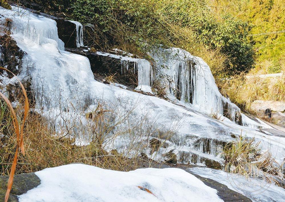 生态雅璜现冰凌景观