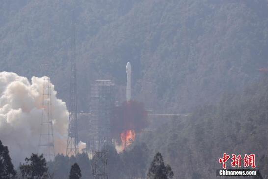 中国长征火箭开启