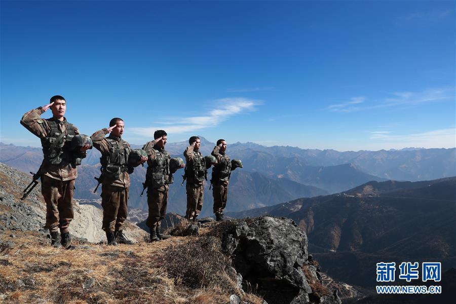 戍边官兵:我站立的地方是中国!