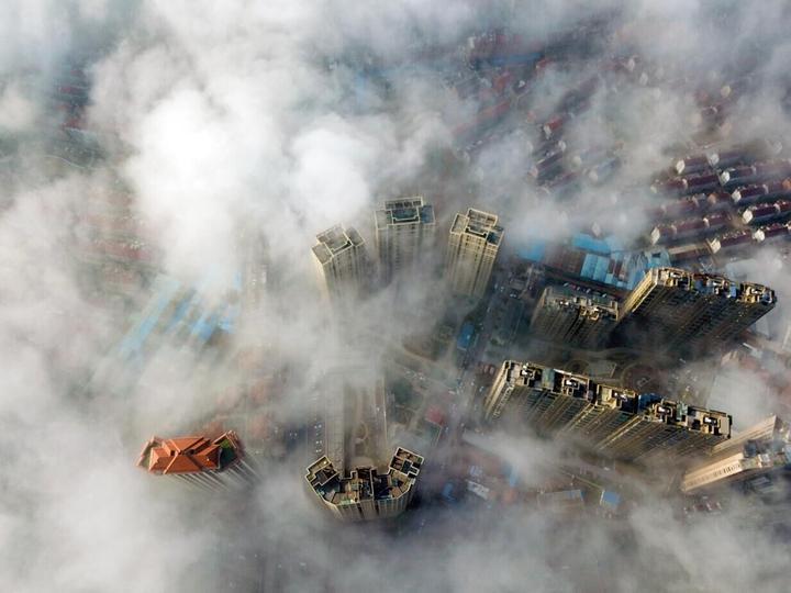 雾锁东阳 美如幻境