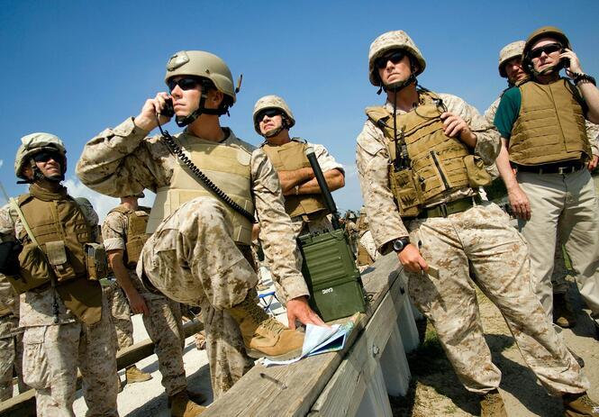 美国海军陆战队要招募三千外国兵