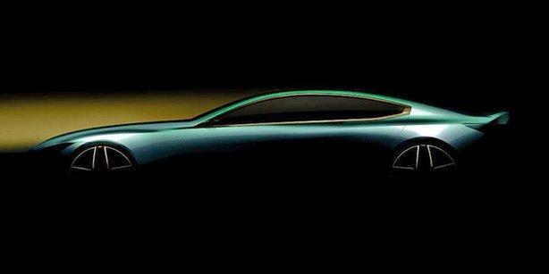宝马M8 Gran Coupe官图发布