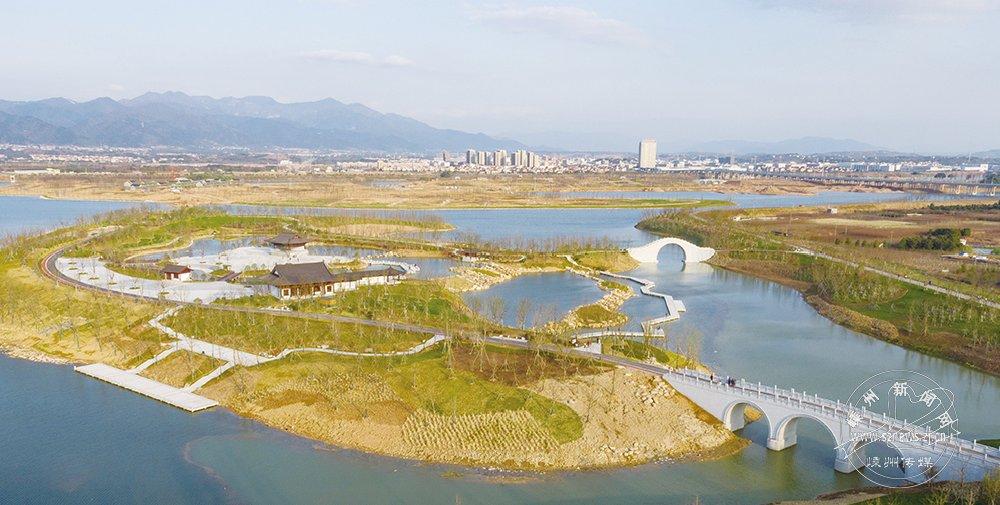 艇湖城市公园初现雏形