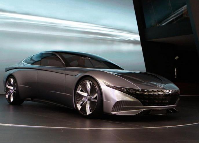 现代全新概念车亮相日内瓦车展