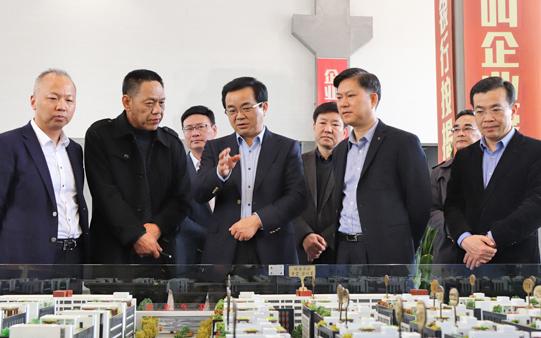 副省长高兴夫来玉考察老旧工业点改造和小微企业园建设