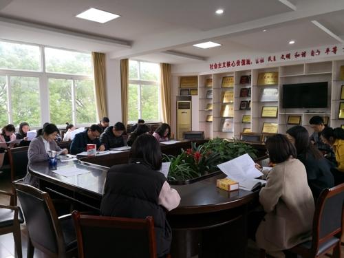 桐星学校召开文理科基础调研考务工作会议