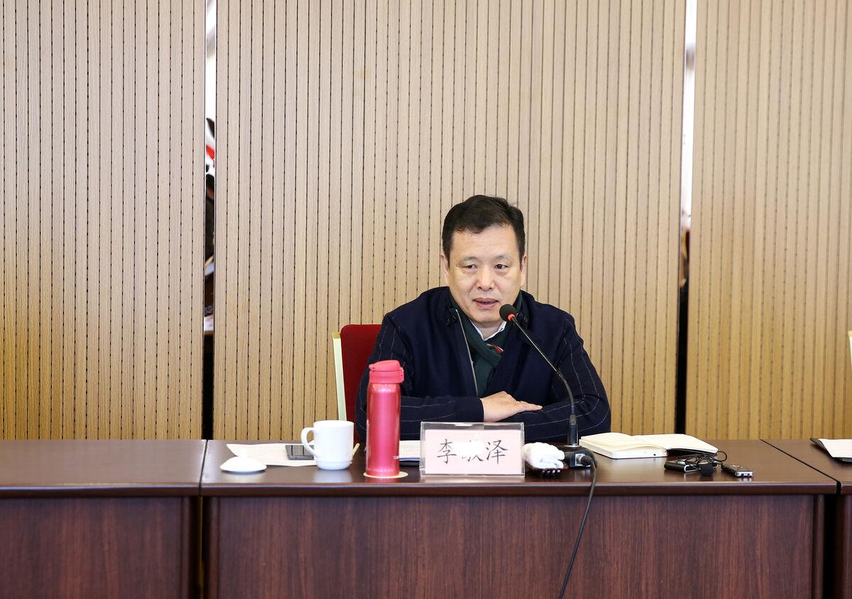 中国作协党组成员、副主席、书记处书记李敬泽来浙专题调研