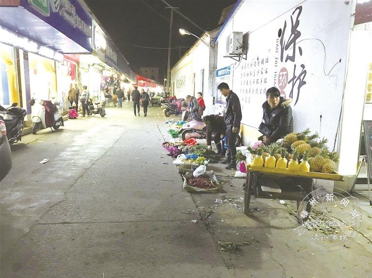 莲塘农贸市场内脏乱差严重