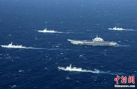 """中国航母编队规模大""""世界罕见"""""""