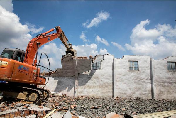集中拆违超22万平方米 玉环:加紧老旧工业点改造提升