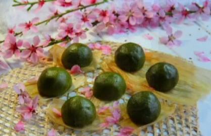 列岛视线:清明制青饼 清香溢满城