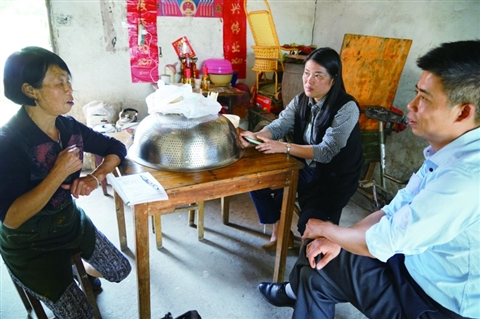 工作组把工作做到被征收人的心坎上
