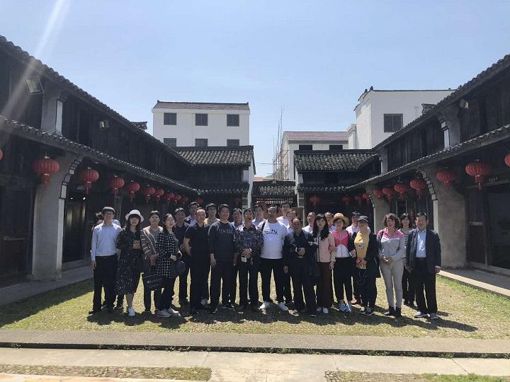山东省安丘市政府代表团来东王村考察