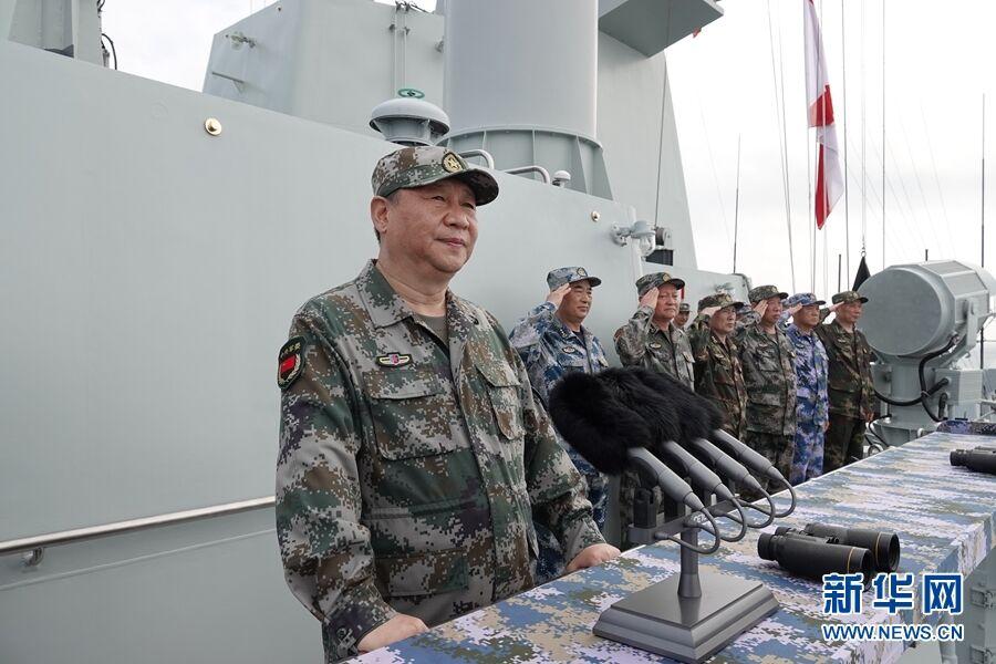 习近平:把人民海军全面建成世...