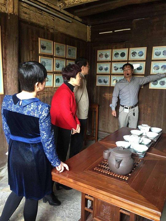 陕西省西安市长安区副书记等一行人来东王村考察