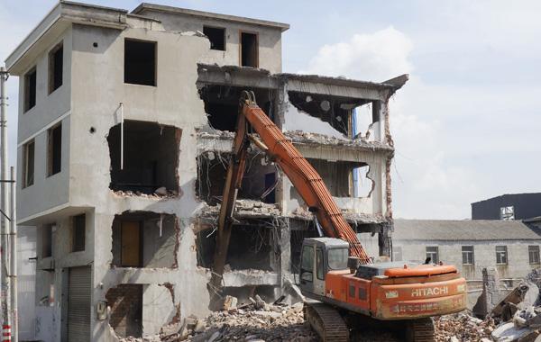 玉环18个老旧工业点违法建筑 4月底前全部整治到位