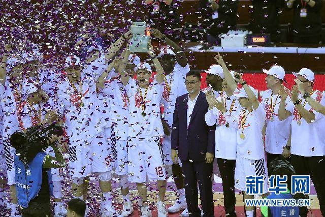 23载梦圆,辽宁横扫广厦首夺CBA总冠军