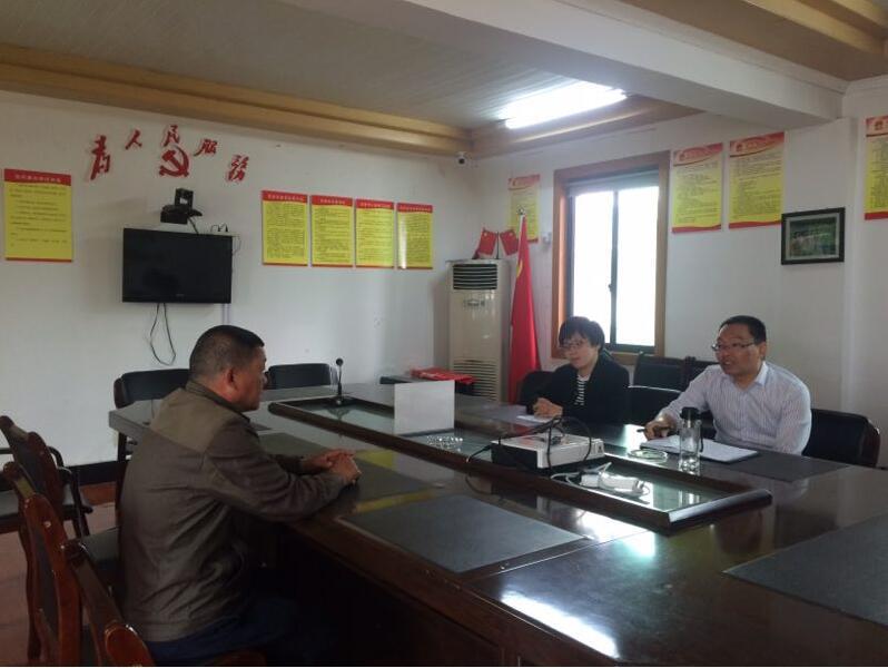 下王镇代表联络站开展接访活动