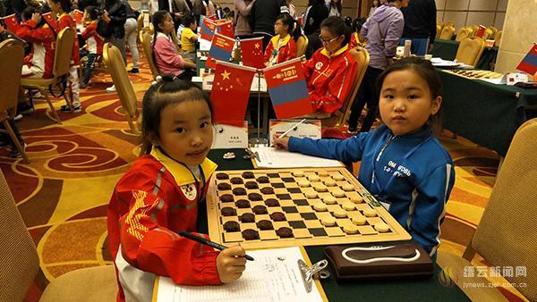 实幼棋手斩获亚洲国际跳棋锦标赛铜奖