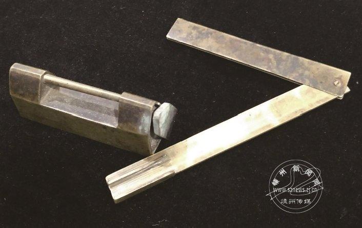 惹人喜爱的古铜锁