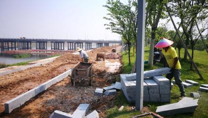 东阳江畔这条绿道5月底完工