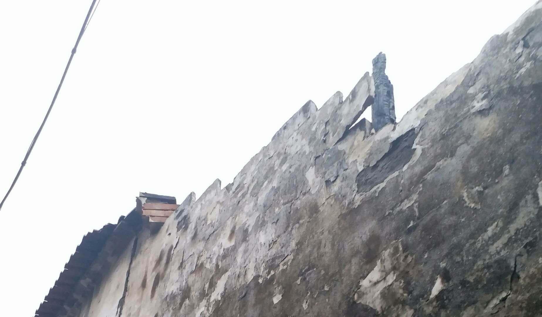 剡湖街道城隍坊社区危房处理